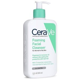 CeraVe Foaming Facial Cleanser Normal To Oily Skin